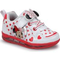 Mickey Mouse Janet Beyaz Kız Çocuk Sneaker Ayakkabı