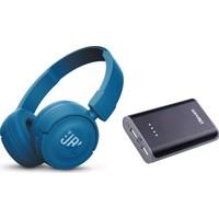 Jbl T450Bt Wirelesss Bluetooth Kulaklık + Dexim 6000 Mah Powerbank