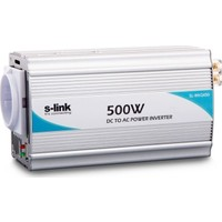 S-Link Sl 500W Dc 12V To 220V Power İnverter