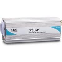 S-Link Sl-700W 700W Dc12V-Ac230V İnverter