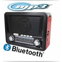 Everton Rt-832 Bluetooth Müzik Kutusu, Radyo, Usb, Sd, Fener