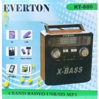 Everton Rt-880 Nostalji Müzik Kutusu, Radyo, Usb, Sd,Mp3 Player