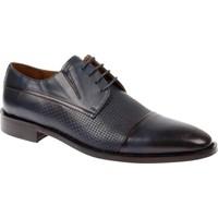 Shalin Hakiki Deri Klasik Lacivert Erkek Ayakkabı - Lis 3652