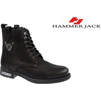 Hammer Jack Hakiki Deri Erkek Bot - Hmr 15200 Siyah