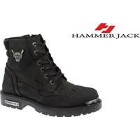 Hammer Jack Hakiki Deri Erkek Bot - Hmr 16550M Siyah