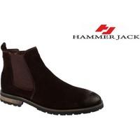 Hammer Jack Hakiki Deri Erkek Bot - Hmr 17725 Kahverengi
