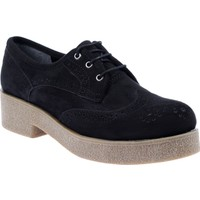 Shalin Kadın Ayakkabı - Cd 801 Siyah Süet