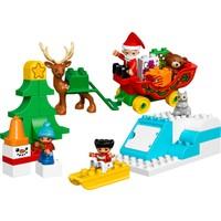 LEGO Duplo 10837 Noel Baba'nın Kış Tatili