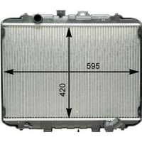 Cey HYUNDAI H100 Motor Radyatörü 1997 - 2008 [VEKA] (2530043820)