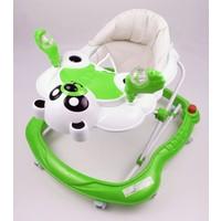 Asyamo Panda Yürüteç - Müzikli Stoperli - Yeşil