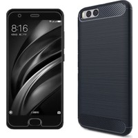 Case 4U Xiaomi Mi 6 Korumalı Arka Kapak Room Lacivert*
