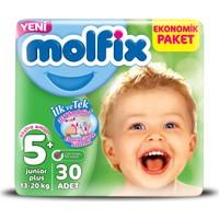 Molfix Bebek Bezi 5+ Beden Junior Plus Jumbo Paket 30 adet