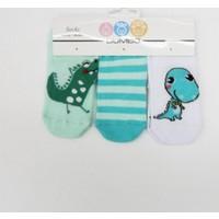 Baby By Bumbo Dino 3'lü Bebek Çorabı
