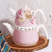 Porselen Çaydanlık Seti