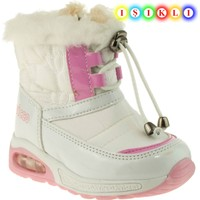 Vicco 943.V.431 Bebe Beyaz Çocuk Kar Botu