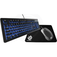 Steelseries Apex 100 Klavye + Rival 100 Mouse + Qck Mini Mousepad