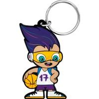 Eurobasket FIBA028 Aksesuar Anahtarlık Renkli