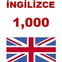 Hafıza Teknikleri İngilizce 1000 Kelime