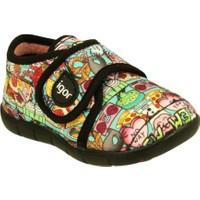 Igor W20105-Popart Renkli Desenli Çocuk Panduf Ayakkabı