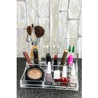 Mukko Home Akrilik Kozmetik Makyaj Düzenleyici Organizer