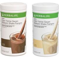 Herbalife Vanilya & Çikolata 2 x Shake