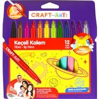 Craft And Arts Keçeli Kalem Jumbo 12'Li