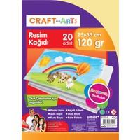 Craft And Arts Resim Kağıdı 20'Li 25X35