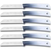 Solingen Meyve Bıçağı Gri Beyaz 6 Adet