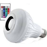 Bluetooth Hoparlör Akıllı LED Ampül Lamba