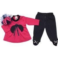Modakids Kız Bebek Uğur Böcekli 3'lü Takım 035-221972-022