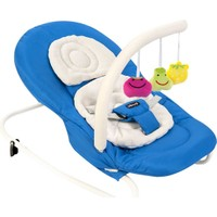 Vauva V9705 Bounce Sallanır Oyuncaklı Ana Kucağı - Mavi
