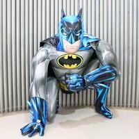 Cin Büyük Boy 111X91Cm. 3 Boyutlu Batman Doğum Günü Balonu Cin83
