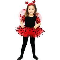 Hkostüm Uğur Böceği Çocuk Kostümü 3-4 Yaş