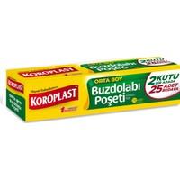 Koroplast Buzdolabı Poşeti Standart Orta Boy 70'li 24x38 cm