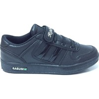 Rabum Günlük Cırtlı Çocuk Spor Ayakkabı Siyah 7045