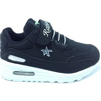 Rabum Air Taban Cırtlı Spor Ayakkabı Siyah Beyaz