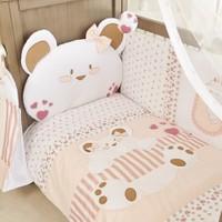 Aybi Baby Cute Bear Girl Kenar Korumalı Oyun Parkı Uyku Seti 100100528974