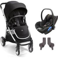 Mamas Papas Armadillo Flip XT 2 Travel Set Bebek Arabası Black