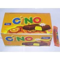 Cino King Size Portakallı Çikolata Kaplamalı Bar 18 gr