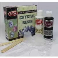 Rich Crystal Resin Opak Beyaz Kristal Reçine Set 195 Cc