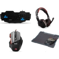 Rampage Everest Sgm-X7 Pro Gaming 'Lü Set ( Makrolu Klavye )