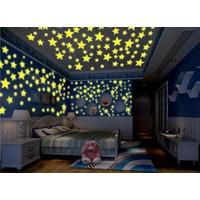 Decolight Karanlıkta Parlayan Renkli Yıldızlar