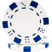 Pusula Oyun Beyaz Renk 25 Adet Poker Çipi, Fişi, Chipi ,5 Gr