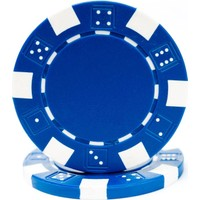 Pusula Oyun Mavi Renk 25 Adet Poker Çipi, Fişi, Chipi ,5 Gr