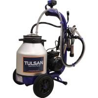 Tulsan Mini Tip Tek İnek Sağım Alüminyum Güğüm Süt Sağma Makinası 30Lt