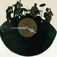 Kişiye Özel Plak Saat - Müzik Temalı