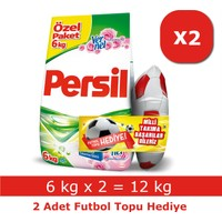Persil Toz Çamaşır Deterjanı Gül 12 kg + Futbol Topu