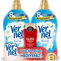 Vernel Max Taze Lale 1440 ml 2 Adet + Gliss Şampuan