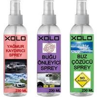 Xolo Kışlık Araç Koruyucu Set Buğu Önleyici Buz Çözücü Yağmur Kaydırıcı
