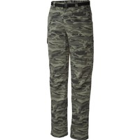 Columbia Silver Ridge Printed Cargo Pant Am8685 / Green - 38